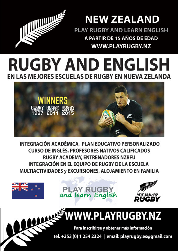 Campamentos de verano Jugar al Rugby y aprender Inglés