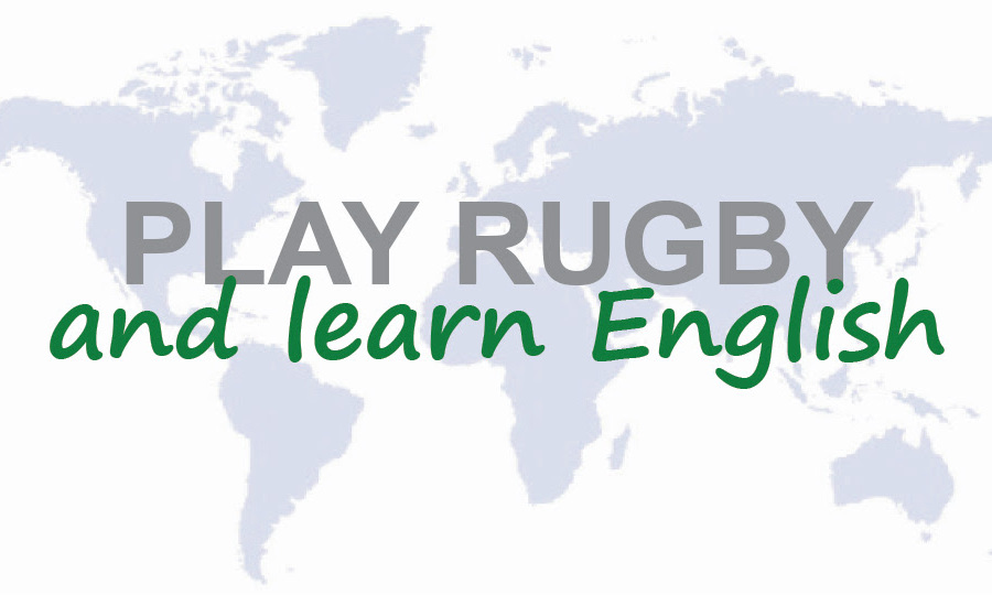 Play Rugby and learn English